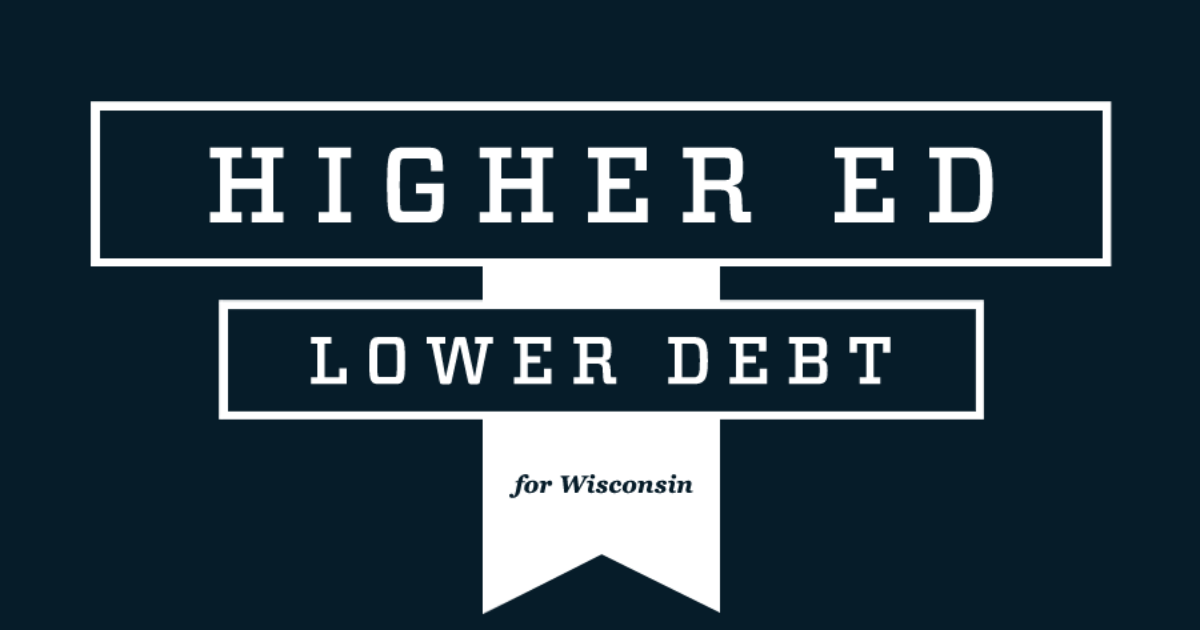 higher ed lower debt student loan debt logo