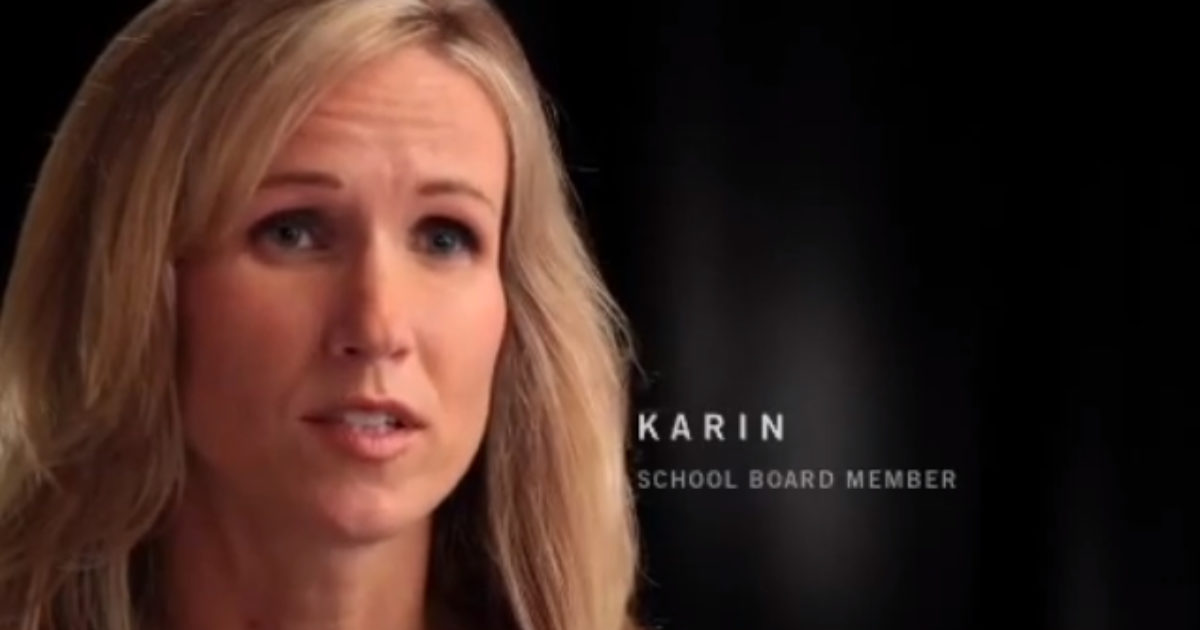 karin school board from scott walker ad