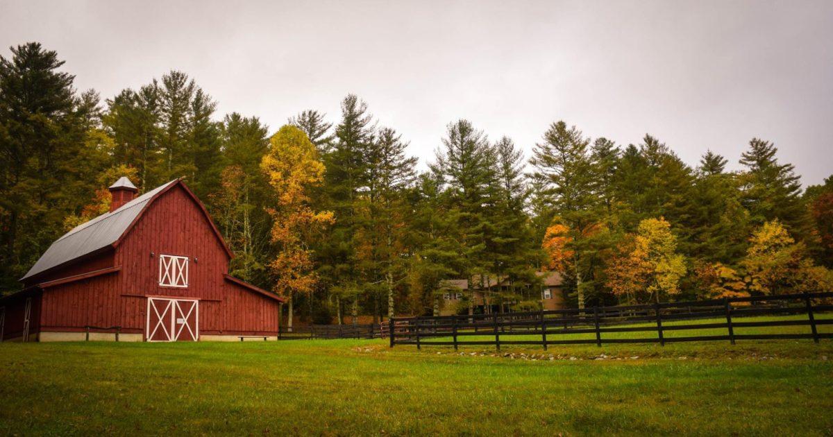 barn on a farm