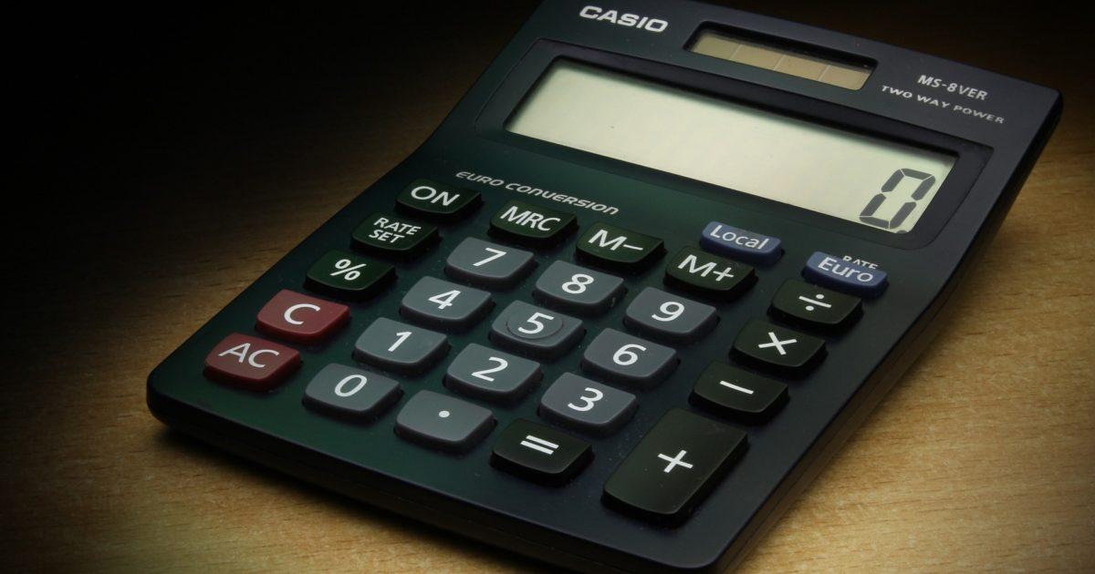 calculator zero