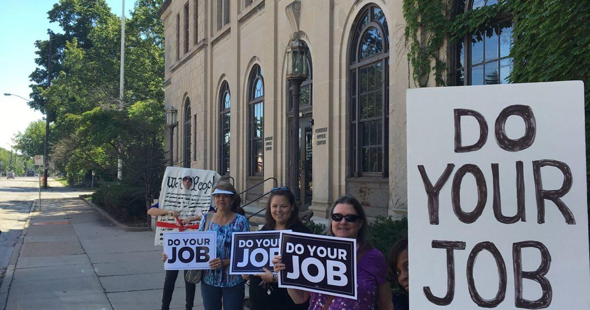 #doyourjob demonstration