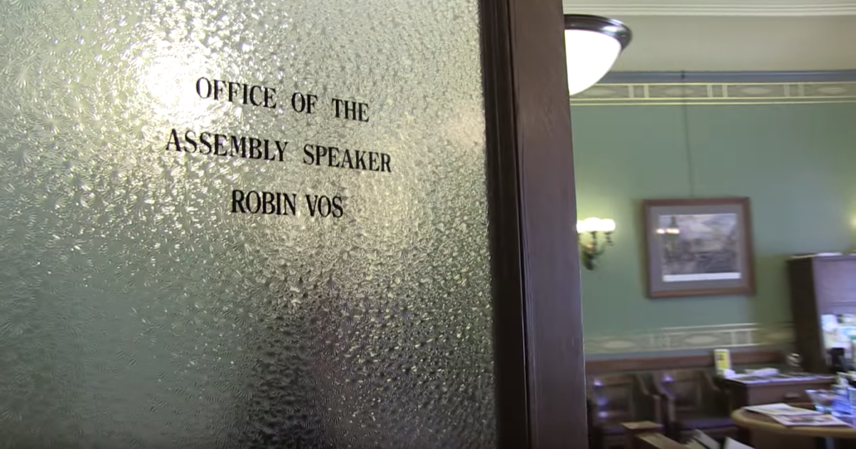 robin vos office door