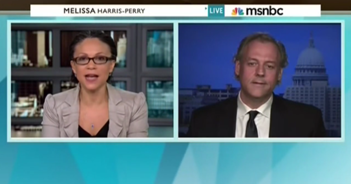 scot ross on melissa harris-perry msnbc