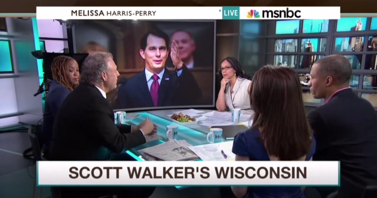 scot ross on msnbc to talk scott walker's right-to-work