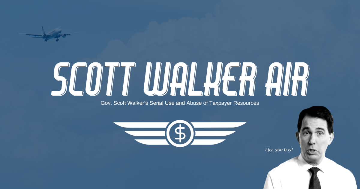 scott walker air social media