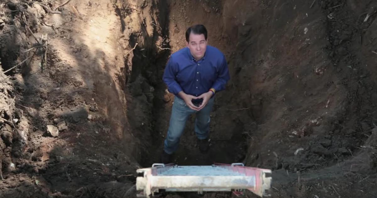 scott walker in a hole