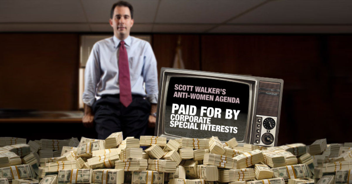 scott walker wmc money