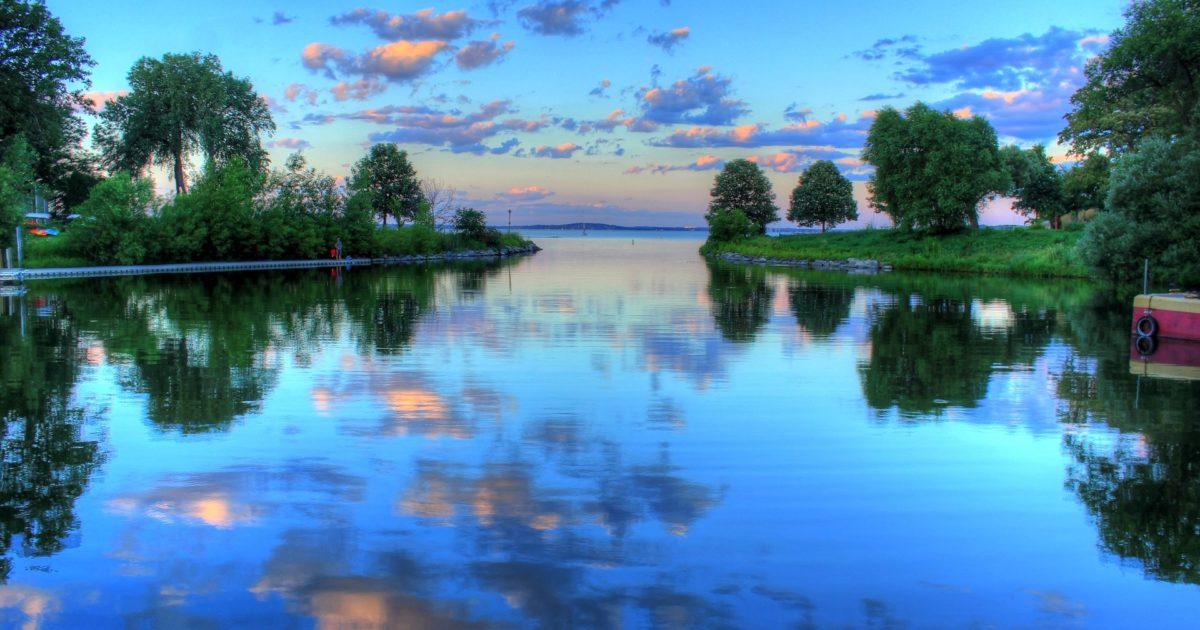 wisconsin lake landscape